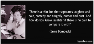 Bombeck-thin line