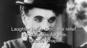 chaplin-laughte is the tonic