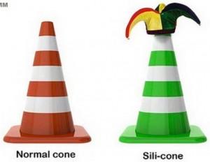 normal-cone-sili-cone
